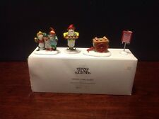 """Department 56 Heritage Village Collection, """"Snow cone Elves"""", Set of 4"""