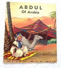STORY BOOK ABDUL OF ARABIA ILLUSTRATED 1910