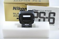 [Exc⁺⁺] Nikon PS-6 Bellows Slide Copying Adapter