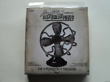 SIZZIX BIGZ TIM HOLTZ ALTERATIONS DIE VINTAGE FAN BNIP *LOOK*