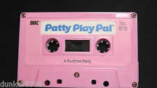 PATTY PLAY PAL DOLL AUDIO CASSETTE TAPE A FUNTIME PARTY 1987 WORKS