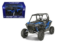 POLARIS RZR XP 1000 DUNE BUGGY MODEL BLUE 1/18 BY NEW RAY 57593 B