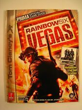 Prima Official Rainbow Six Vegas Strategy Guide 2006 (Covers PC Xbox 360, PS3)