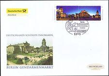 BRD 2013: gendarmi mercato Berlino! post-FDC della autoadesiva nr 2987+2988! 1603