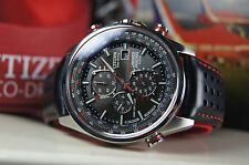 CITIZEN ECO-DRIVE at8060-09e Red Arrows RADIO CONTROLLATO Sapphire! (4)