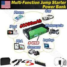 68800mAh 600A Car Jump Starter Emergency Charger Booster Power Bank Green