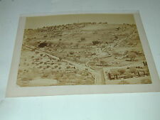 TANCREDE DUMAS Beyrouth paysage 21.5x28.5 cm photo photographie albuminée 1880