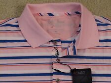 $89 BOBBY JONES X-H2O PERF POLY/SPANDEX GOLF/POLO SHIRT w/GOLFER PLACKET-XXL-NWT