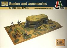 Italeri - Bunker and accessories - 1:72