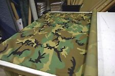 2 YARDS WOODLAND 330D CORDURA CAMOUFLAGE NYLON FABRIC MILITARY CAMO DWR