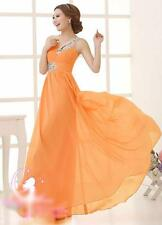 Appealing Chiffon Evening Formal Party Ball Gown Prom Bridesmaid Long Dresses