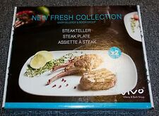 Villeroy & Boch Vivo New Fresh Collection of 2 Steak Plates
