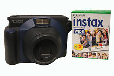 Fuji Instax 100 Camera with Instax Wide film Double Pack