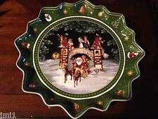 "Villeroy & Boch TOY'S FANTASY 15.25"" Large Deep Pastry Plate:  #2268"