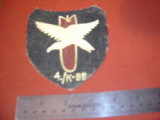 WWII LUFTWAFFE CONDOR LEGION 4./K-88 BOMBER SQUADRON EAGLE FLIGHT JACKET PATCH