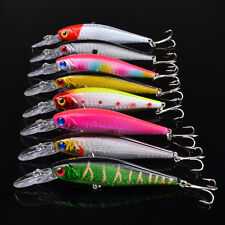 Wholesale 24pcs Minnow Sink Fishing Lures CrankBait Bait Bass Tackle 10cm/9.36g