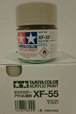 Tamiya acrylic paint XF-55 Deck tan 23ml