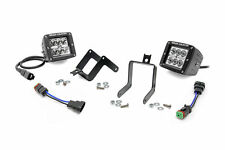 Ford Super Duty 2 Inch Square Cree LED Fog Light Kit 2011-2016