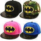 Unisex Kids Hip-Hop SnapBack Batman Baseball Cap Children Adjustable Sports Hats