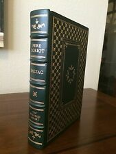 """1977 """"PERE GORIOT"""" by Honore de Balzac  Franklin Library Full Leather"""