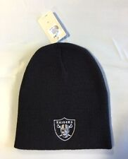 Oakland Raiders Knit Beanie Winter Hat Toque Skull Cap NEW Black