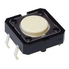 5 OMRON B3F-4000 Mini-Taster 1mA-50mA 5V-24V 1xEIN 1,27N 12x4,3mm liegend 855091