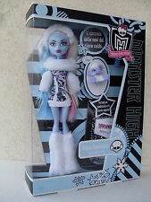 abbey bominable monster high figlia daughter yeti mammoth shiver dol V7988 N2851