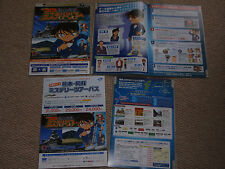 DETECTIVE CONAN 2013 Japan flyer x2 PRIVATE EYE in the DISTANT SEA MYSTERY TOUR