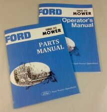 FORD SERIES 515 REAR ATTACHED MOWER OPERATORS OWNERS PARTS MANUAL SET SICKLE BAR