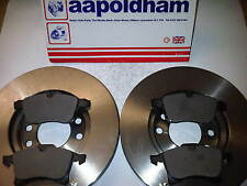 VAUXHALL ASTRA H 1.3 1.4 1.6 1.7 1.8 1.9 2x NEW FRONT BRAKE DISCS & PADS 04-10
