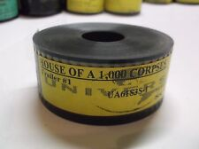 HOUSE OF 1000 CORPSES (2003) 35MM Movie Trailer #1 :67 ROB ZOMBIE Horror Film