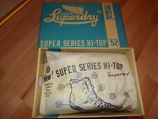 SUPERDRY HIGH TOP SHOES 6 UK (ORIGINAL) SUPER SERIES 52