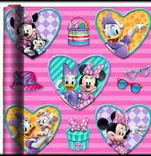 MINNIE MOUSE DAISY DUCK WRAPPING PAPER ROLL GIFT WRAP ANY OCCASION 20 SQ. FEET