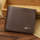 cool Pattern Men's PU Leather Wallet Pocket Card Clutch ID Credit Bifold Purse