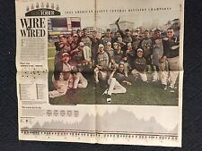 Chicago White Sox 2005 World Series Year 2005 ALDC Newspaper page