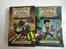 Cronicas de Un Bosque Chiflado,Lote de dos Libros,Ed.B 2008,ver descripcion