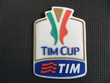 TOPPA PATCH BADGE TIM CUP COPPA ITALIA OFFICIAL UFFICIALE GOMMINA AUTENTICA
