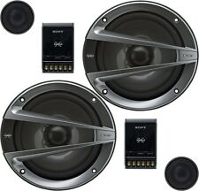 "Sony XS-GTX1621S Xplod GTX Series 6.5"" 2-way Component Speakers"
