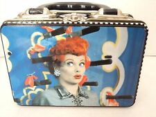 I Love Lucy Metal Lunch Box with Plastic Handle