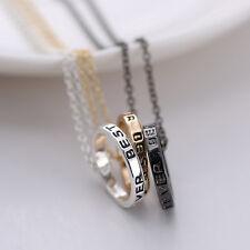 3pcs Best Friend forever Friendship Silver/gold Break Heart Pendant Necklaces