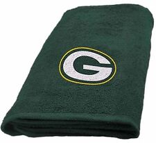 Green Bay Packers Hand Towel measures 15 x 26 inches
