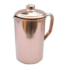 Pure Copper Water Jug | Copper Pitcher for Ayurveda Health Benefit by HealthG...