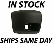 NEW Primered - Passengers Front Right Bumper End Cap 2007-2013 Chevy Silverado