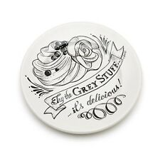 Disney Beauty And The Beast Be Our Guest Grey Stuff Plate Chip Belle Lumiere