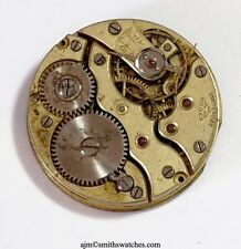 SS & CO STAUFFER  IWC IMPORTER SWISS LEVER WRISTWATCH MOVEMENT  CC16