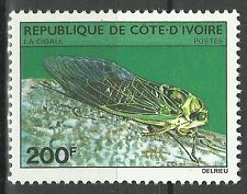 Cote d Ivoire Ivory Coast Insectes Cicadidae Cigale Cicada Singzikaden ** 1980