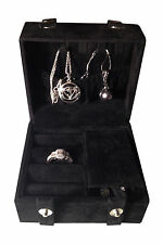 Travel Jewelry Organizer Necklace Pendent Ring Earring Storage Case Display
