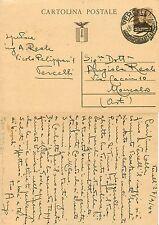 2435 - RSI (Repubblica Sociale) - Intero postale C 111, 28/09/1944