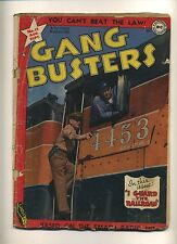 Gang Busters 11 (FR) 1949 National DC Golden Age TV Radio photo cover (c#10135)