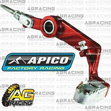 Apico Red Rear Foot Brake Pedal Lever For Montesa 4RT 2009 Trials Models New